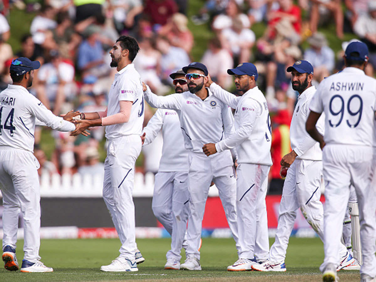 India vs New Zealand, 1st Test: New Zealand take lead but India strike back late on Day 2 | Cricket News - Times of India