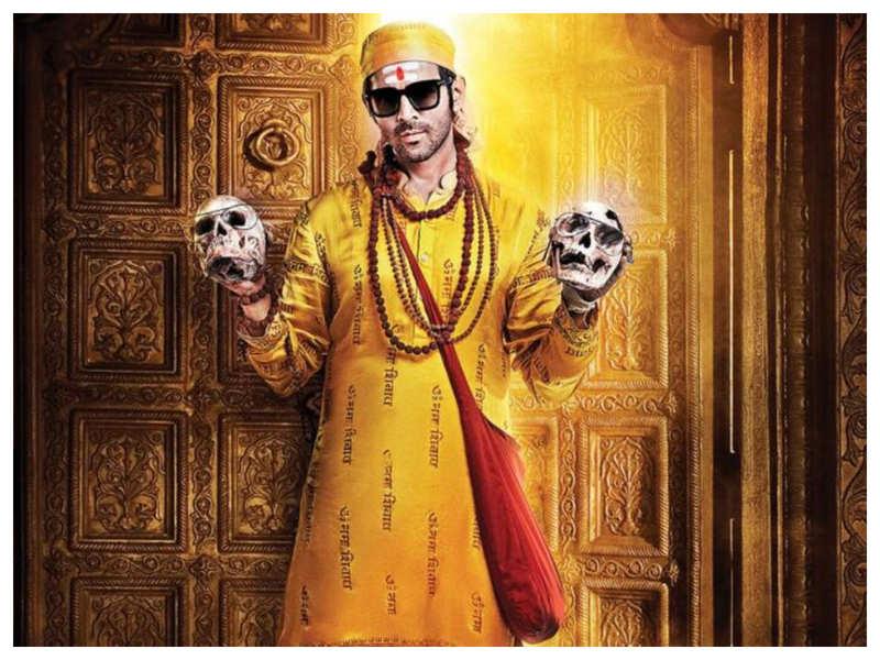 Watch: Kartik Aaryan kick-starts shooting for 'Bhool Bhulaiyaa 2' in Jaipur, shows off his Godman look