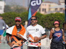#Breaking barriers: Niket Dalal became the 1st Blind Indian to complete Ironman 70.3
