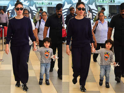 Taimur gets his swag mode on in these pics