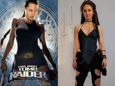 Elli: Malang look resembles Jolie's Lara Croft