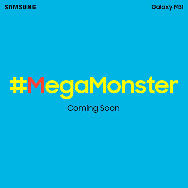 Samsung Galaxy M31 is a next-level #MegaMonster: Packs 64MP quad-camera, a 6000mah battery & a Super-AMOLED display