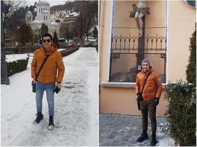 Ssharad Malhotra is back from Romania trip