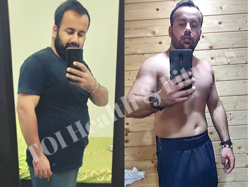 Weight Loss Story This Guy Followed The Keto Diet And Lost 11 Kilos In Just 2 Months This Is His Diet Times Of India