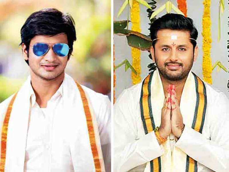 Nithiin and Nikhil to turn pellikoduku on the same day!