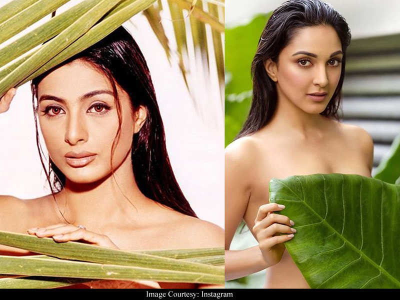 Kiara Advani's topless photoshoot was a concept recreation of Tabu's bold pose from 2001, clarifies photographer Dabboo Ratnani