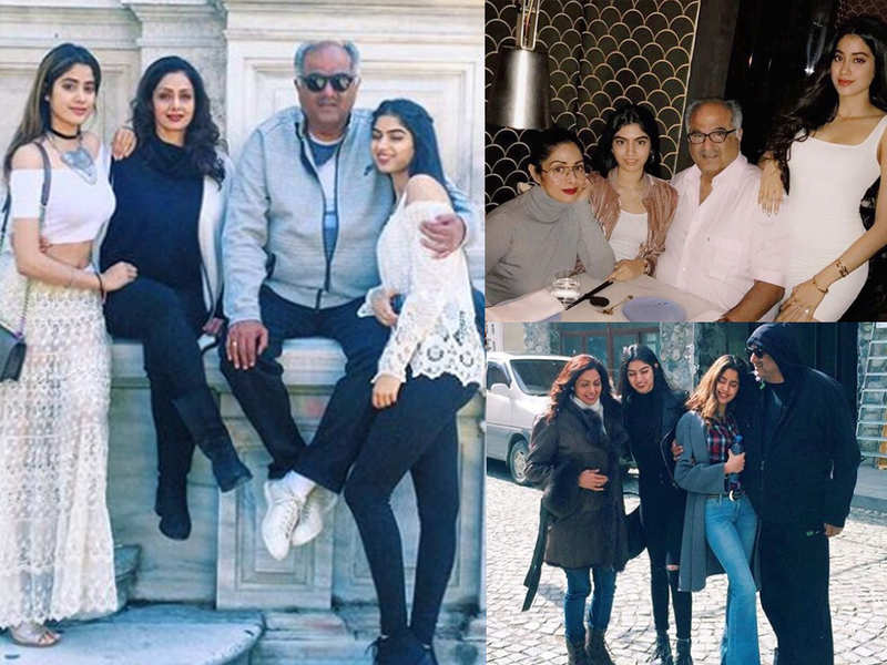 Remembering late Sridevi with 10 throwback pictures from her family album with Janhvi, Khushi, Boney Kapoor, on the eve of her second death anniversary