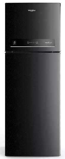 Whirlpool 265 L 3 Star Inverter Frost-Free Double Door Refrigerator (IF INV CNV 278 BLACK SPARKLE (3s)-N, Black)