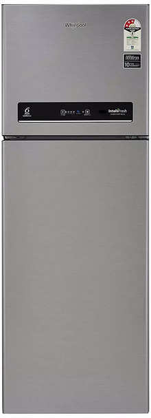 Whirlpool 265 L 3 Star Inverter Frost-Free Double Door Refrigerator (IF INV CNV 278 GERMAN STEEL (3s)-N, Grey)