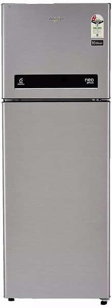 Whirlpool 265 L 2 Star Frost-Free Double Door Refrigerator (NEO DF278 PRM GERMAN STEEL (2s)-N, Grey)