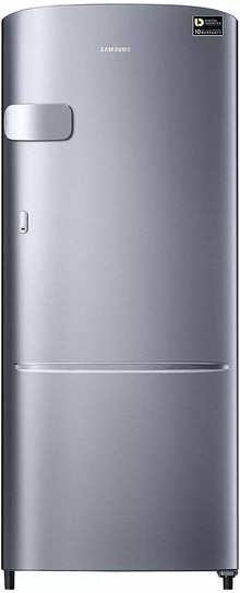 Samsung 192 L 3 Star Inverter Direct-Cool Single Door Refrigerator (RR20T2Y2YS8/NL, Elegant Inox(Light Doi Metal)