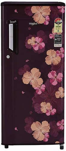 Whirlpool 200 L 4 Star Inverter Direct-Cool Single Door Refrigerator (215 IMPC PRM 4S INV WINE AZALEA, Wine Azalea)