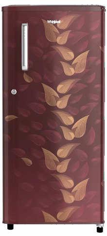 Whirlpool 190 L 3 Star Direct-Cool Single Door Refrigerator (WDE 205 CLS PLUS 3S WINE FIESTA, Wine Fiesta)