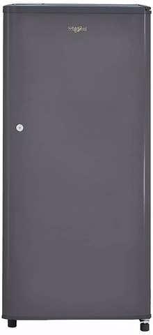 Whirlpool 190 L 2 Star Direct-Cool Single Door Refrigerator (WDE 205 CLS 2S GREY, Grey)