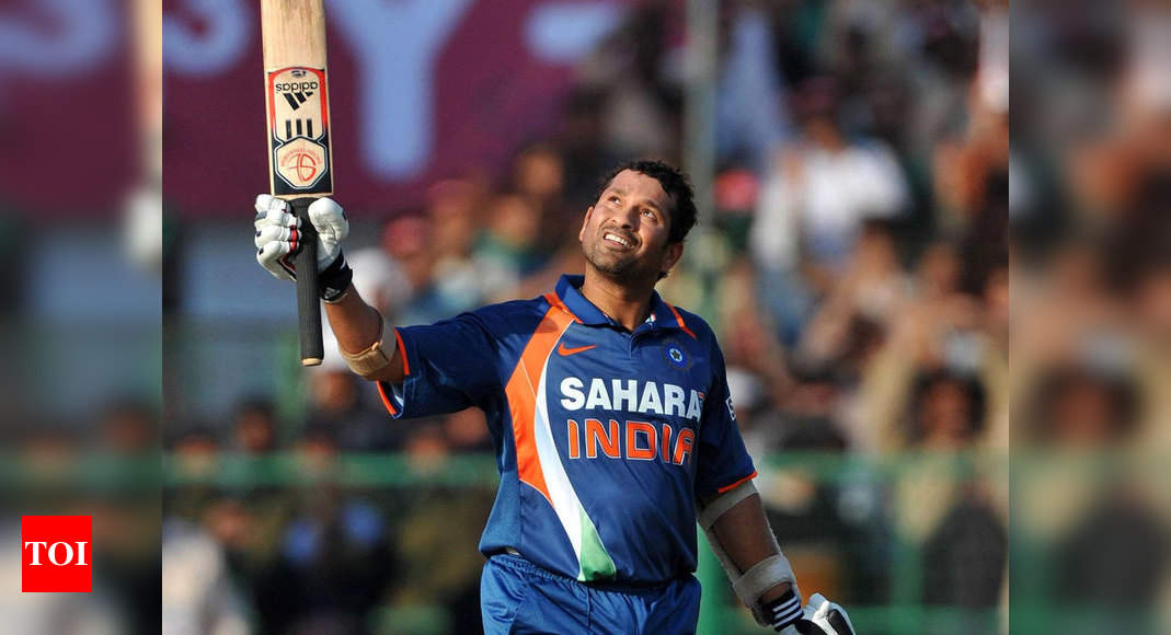 This day that year: Sachin Tendulkar became first man to score double ton in ODIs - Times of India