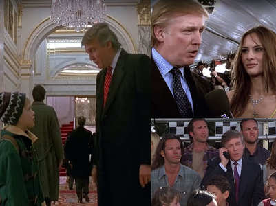 Donald Trump played cameos in several films