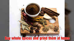 Useful hacks when using Indian spices