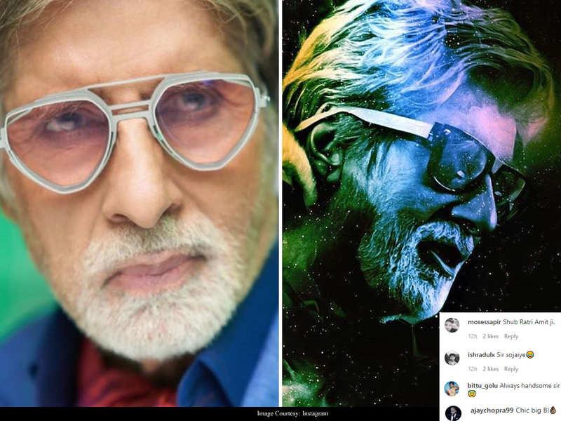 Fans advise Amitabh Bachchan to sleep as he mulls over 'Chashme Ka Fashion' at 3AM