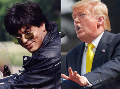 Trump mentions DDLJ; fans call SRK global star