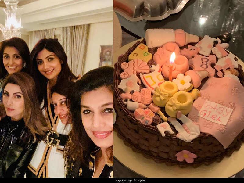 Shilpa Shetty celebrates daughter Samisha's homecoming with her girl gang – view pics