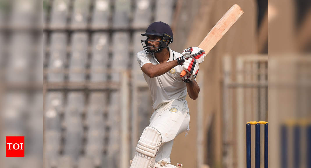 Ranji Trophy: Saurashtra in semifinal after draw against Andhra