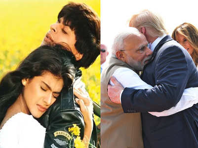 Trump's DDLJ mention gives way to memes