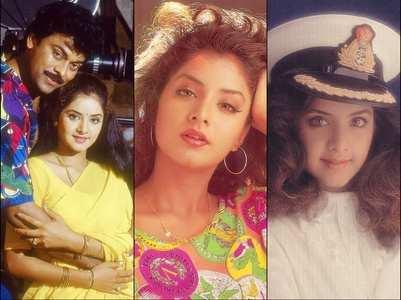 Divya Bharti's birth anniversary: Telugu films