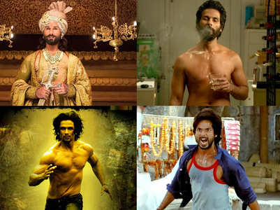Shahid Kapoor's highest box office grossers