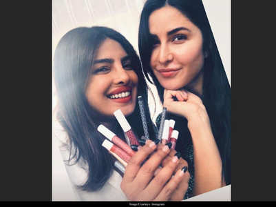 Katrina-Priyanka pose for a perfect selfie