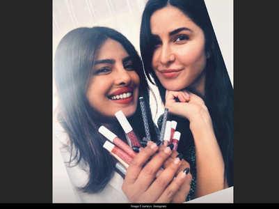 Katrina-Priyanka pose for a perfect selfie