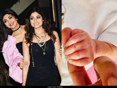 Shamita welcomes Shilpa's baby girl Samisha