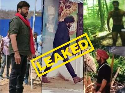 Leaked pics of Junior NTR, Chiranjeevi & Pawan