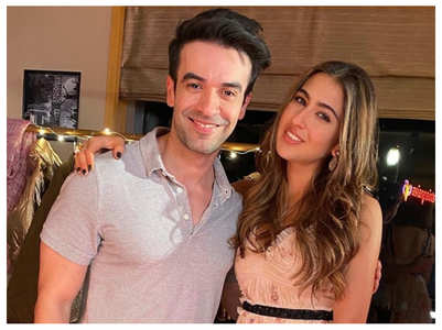 Sara Ali Khan bonds with Punit Malhotra