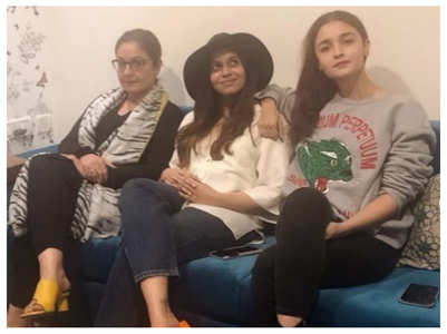 Pics of Alia & her sisters is all things love
