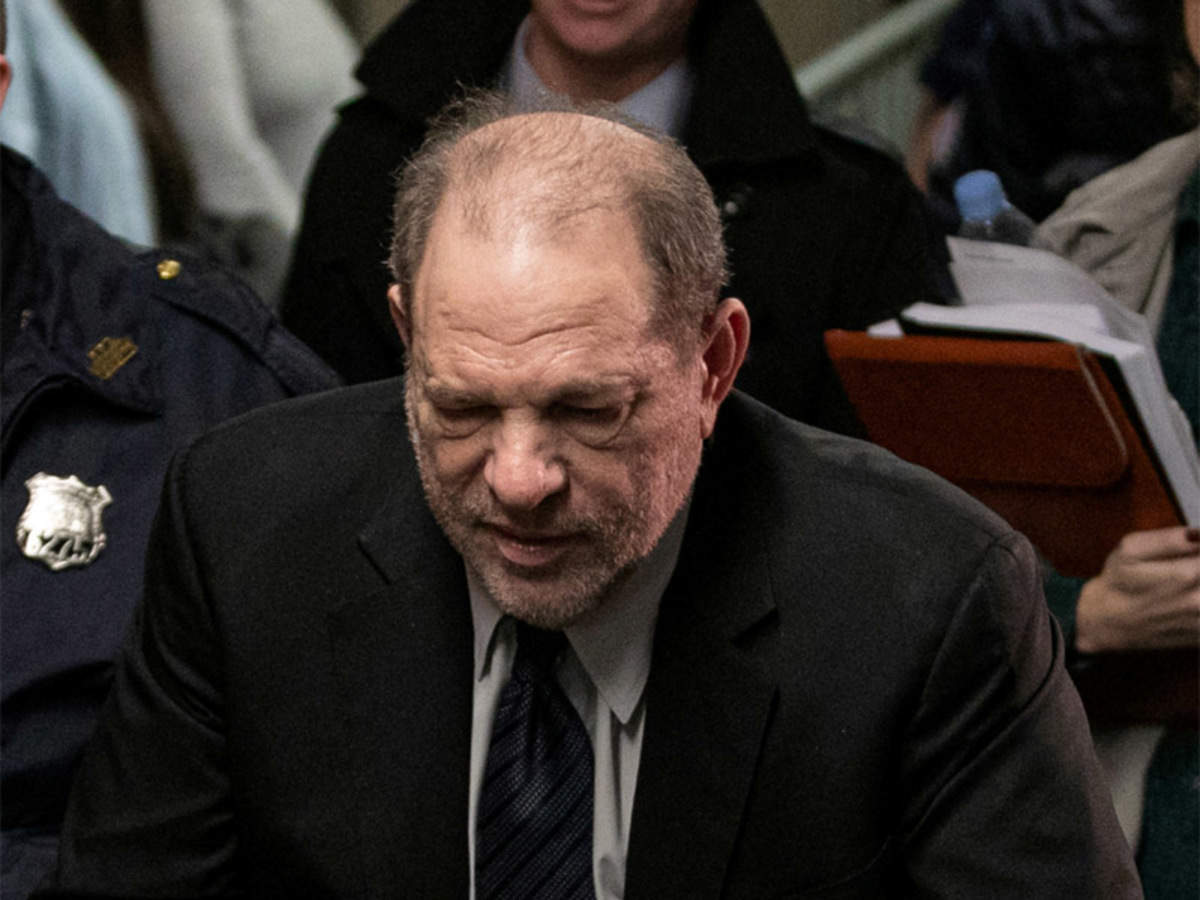 Harvey Weinstein From Hollywood God To Convicted Rapist Times Of India