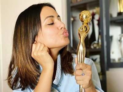 Hina wins TV Star Of The Decade; thanks fans