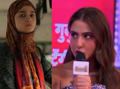 Watch: Sara's recreation of Alia's dialogue