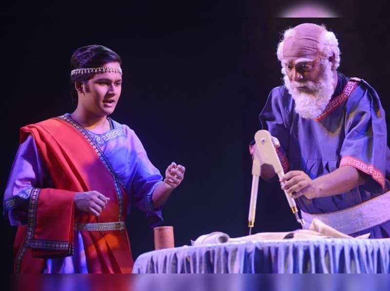 Natyaanan to stage Archimedes-er Mrityu in Greek Theatre Festival in Kolkata