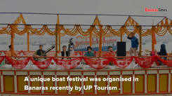A unique boat festival in Banaras