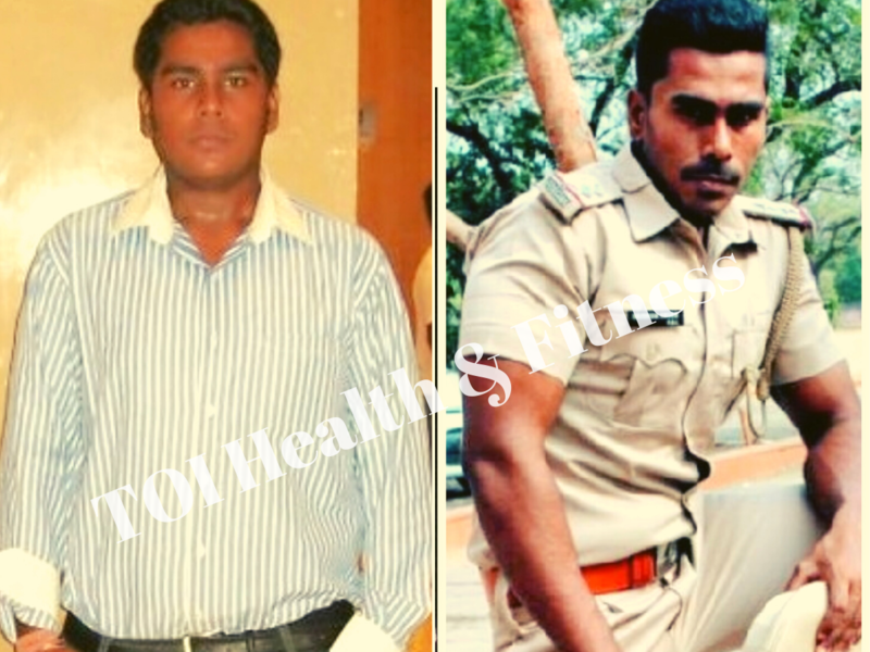 "Weight loss story: ""I was so inspired by seeing Dabangg Salman Khan, I lost 41 kilos and became a sub-inspector!"""