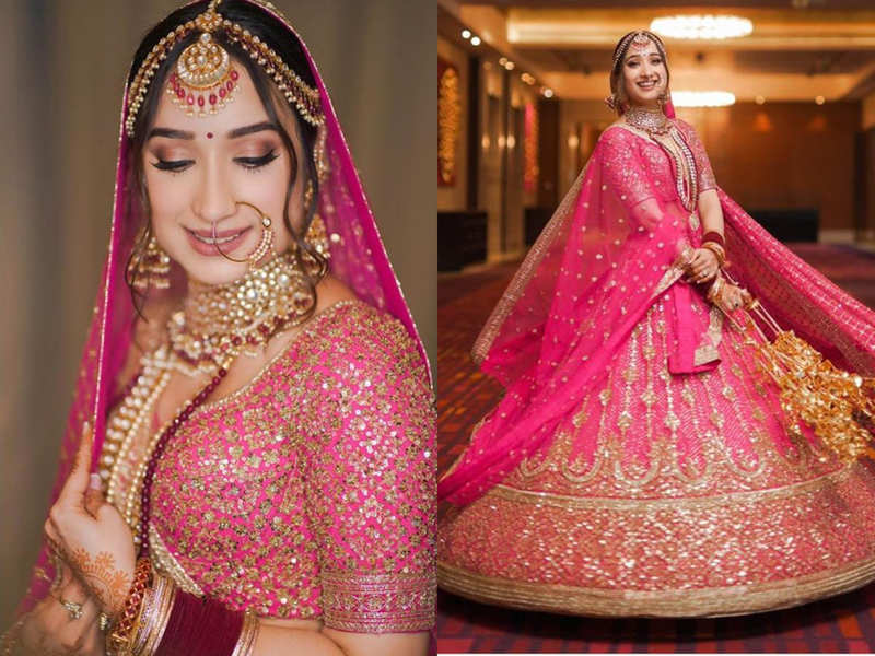 We can't keep our eyes off this Sikh bride's beautiful pink ...