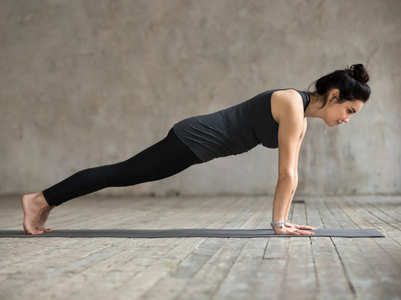 Holding a plank for this long can help flatten your tummy