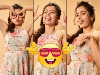 Rashmika Mandanna's quirky-yet-alluring poses
