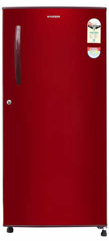 Hyundai 190 L 1 Star Direct Cool Single Door Refrigerator(HC201ESG-FDK/HDK, Silky Grey)