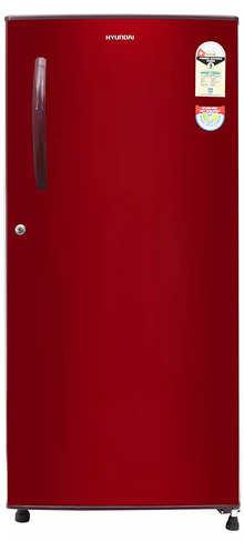 Hyundai 190 L 1 Star Direct Cool Single Door Refrigerator(HC201ESG-FDK/HDK, Silky Grey)
