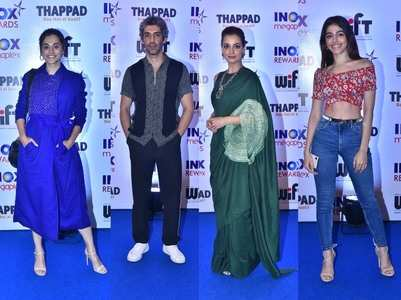 Photos: Celebs attend the screening of Thappad
