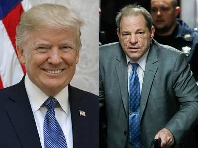 Donald Trump on Harvey Weinstein conviction