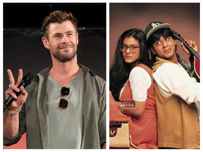 Chris Hemsworth mouths SRK's DDLJ dialogue