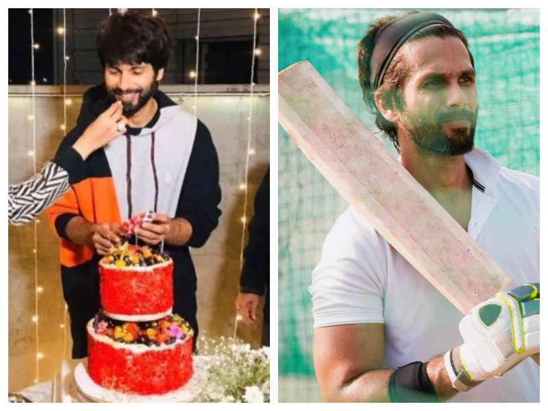 Watch: Shahid Kapoor's reaction to 'Jersey 400 crore' wish while cutting his birthday cake is simply priceless!