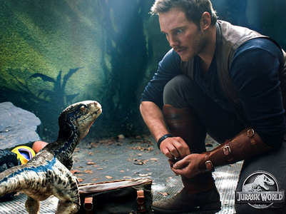 Chris begins Jurassic World: Dominion shoot